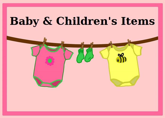 Baby/Children's Items