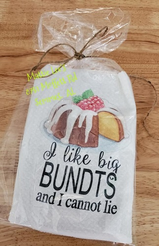 I Like Big Bundts Kitchen Towel