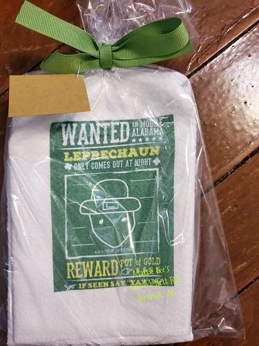 Wanted Crichton Leprechaun Kitchen Towel