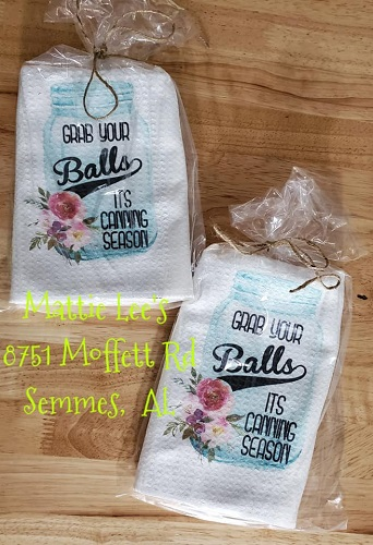 Grab You Balls Kitchen Towel