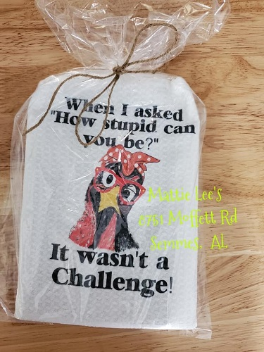 Chicken Challenge Kitchen Towel