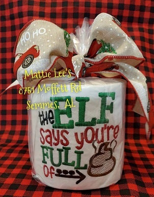 TP Christmas - The Elf Thinks Your Full of....