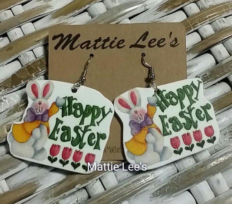 Happy Easter Earrings