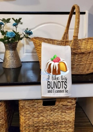 Sublimation. I Like Big Bundts Kitchen Towel