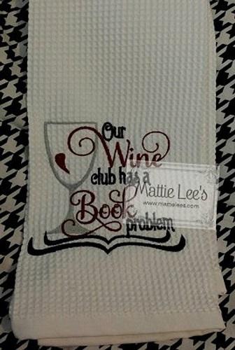 Wine Club Kitchen Towel