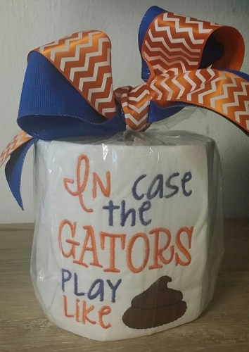 TP Football - In Case the Gators - Orange and Blue
