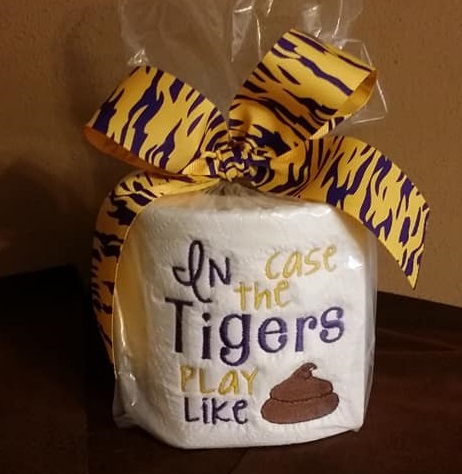 TP Football - In Case the Tigers - Purple