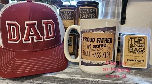 15 oz Coffee Mug - Proud Father of Some Smart-Ass Kids