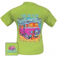 Girlie Girl -  Beach and Back Comfort Color Kiwi