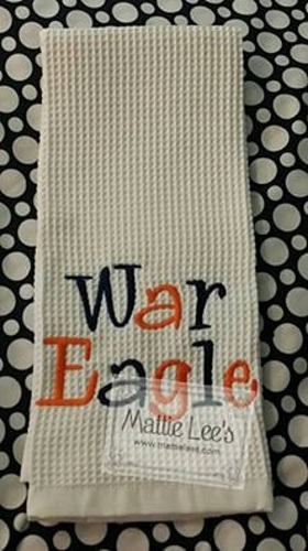 War Eagle Kitchen Towel