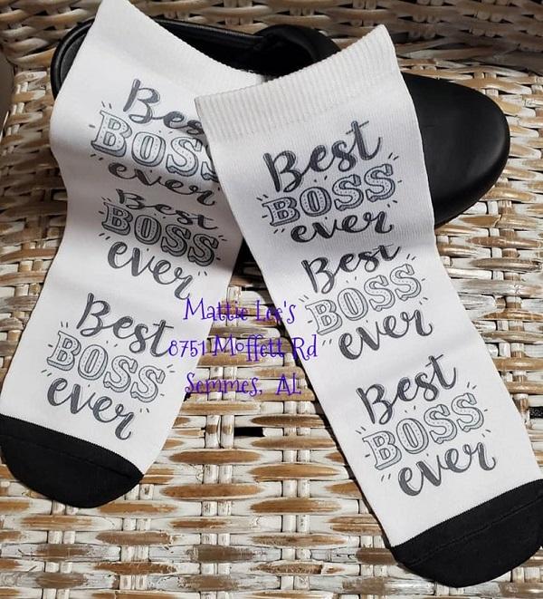 Ankle Sock - Best Boss Ever