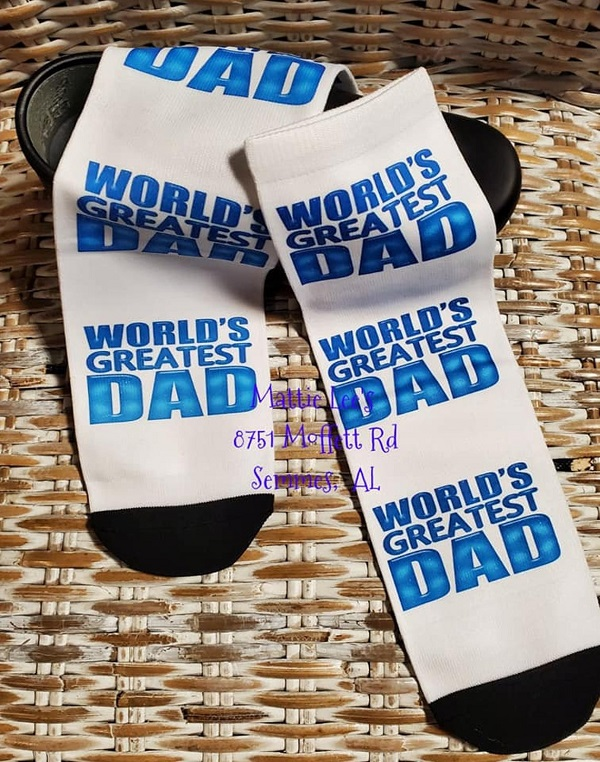 Ankle Sock - World's Greatest Dad