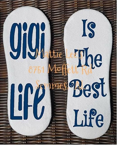 No Show Sock - GiGi Life Is The Best Life