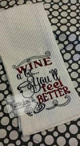 Better Wine Kitchen Towel