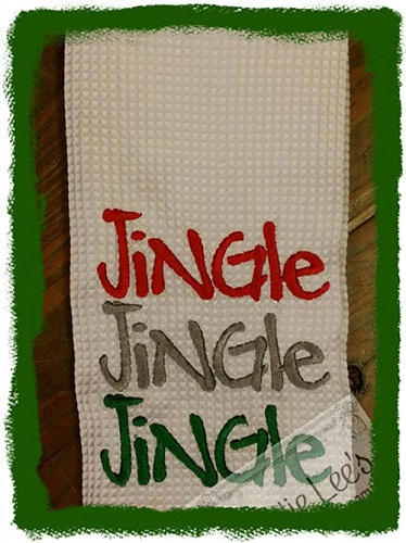 Jingle, Jingle, Jingle Kitchen Towel