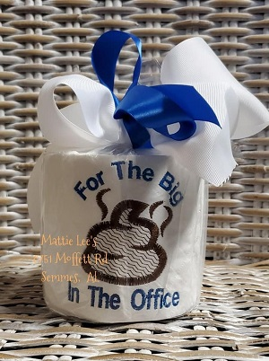 TP Boss - For The Big Poop In The Office